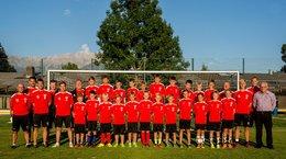 Neue Trainingsbekleidung für U10, U11 und NW-Trainerteam