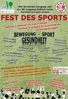Fest des Sports - eine tolle Veranstaltung