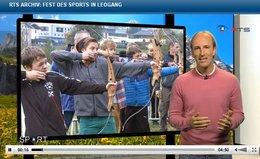 """RTS-Bericht """"Fest des Sports"""""""