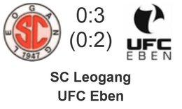 SC Leogang - UFC Eben 0 : 3 (0 : 2)