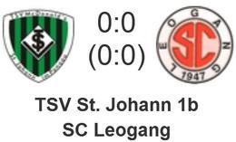 TSV St. Johann/Pg. 1b - SC Leogang 0 : 0