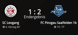 SC Leogang - FC Pinzgau 1b 1 : 2 (0 : 0)